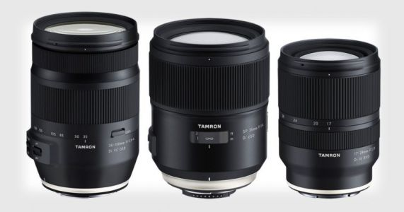 Tamron Unveils 35-150mm and 35mm for FF DSLR, 17-28mm for FF Mirrorless