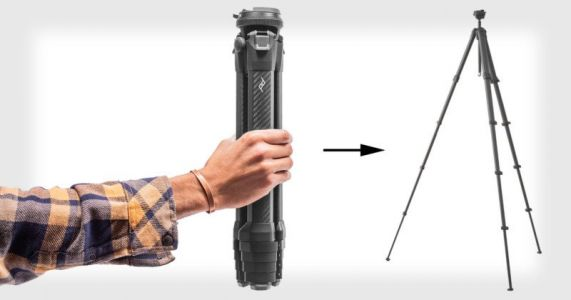 Peak Design Made a Travel Tripod with Game-Changing Compactness