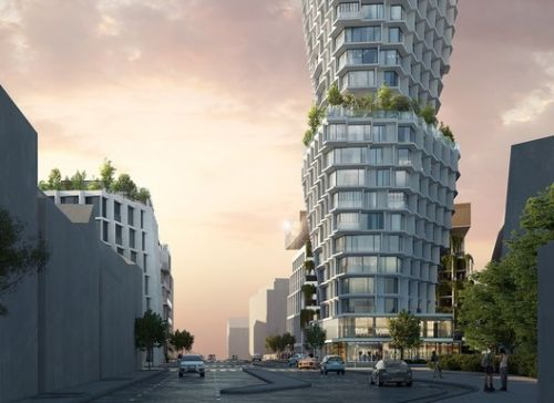 JDSA Wins Competition to Design New Fluted Tower in France