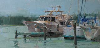 """""""Docking Peacefully"""" -- Sold"""