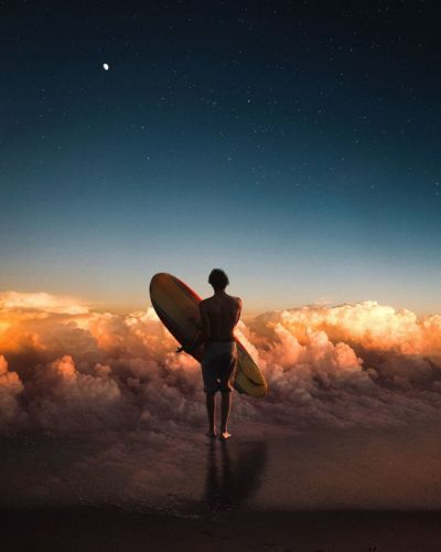 These Photo Manipulations Take You Into a Dreamlike World