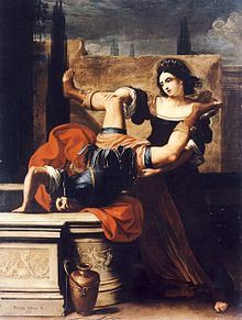 Elisabetta Sirani. Supported her family through her art and opened a school for other female artists