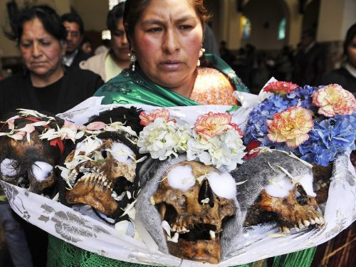SAVE THE DATE: Muerte en Bolivia: Field trip to La Paz to Learn about Bolivia's Death Culture, Folklore, and Sacred Coca Leaf with a Native Guide!