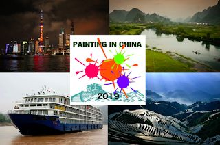 """Painting in China 2019"" announcement"