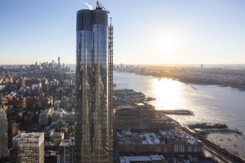 Diller Scofidio + Renfro's Hudson Yards Skyscraper Completed in Manhattan
