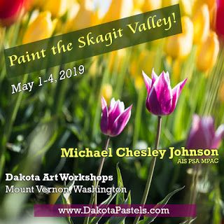 Outdoor Study-to-Studio Painting Workshop: Dakota Pastels, Mount Vernon, WA, May 1-4, 2019
