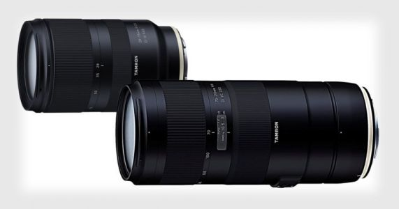 Tamron Unveils 28-75mm f/2.8 for Sony, 70-210mm f/4 for Canon/Nikon