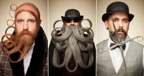 Portraits of the Wildest Creations at the 2019 Beard and Moustache Championships