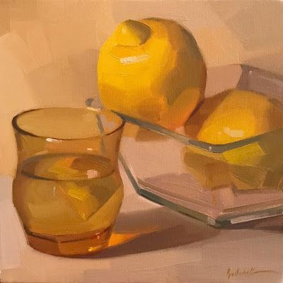 Lemons in Glass - And Videos!
