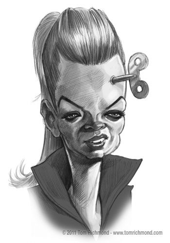 Sketch o'the Week- Shirley Manson!