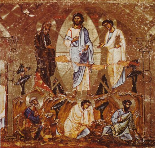 Gospel of Matthew - The Transfiguration: Parallel to the Execution