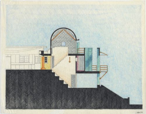 """""""Thom Mayne: Sculptural Drawings"""" Opens at the Museum for Architectural Drawing in Berlin"""