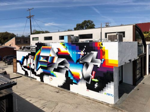 Felipe Pantone in Los Angeles