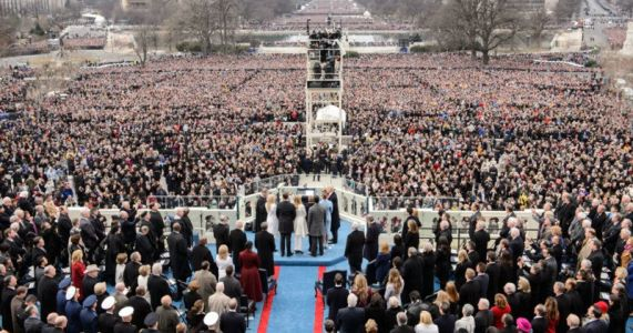 Trump Had Inauguration Crowd Photos Edited, Report Claims