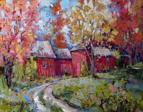 Autumn Palette In The country