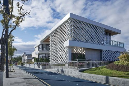 Wenzhou Ou-river Cystal Boxes Restaurant / AntiStatics Architecture