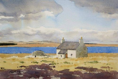 Old Buildings at Loch More