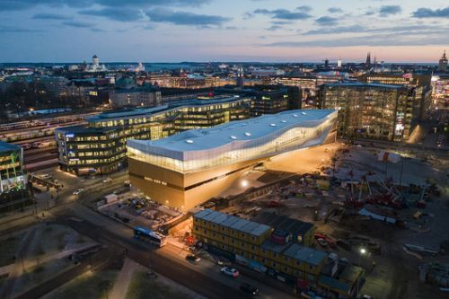 Oodi Helsinki Central Library / ALA Architects