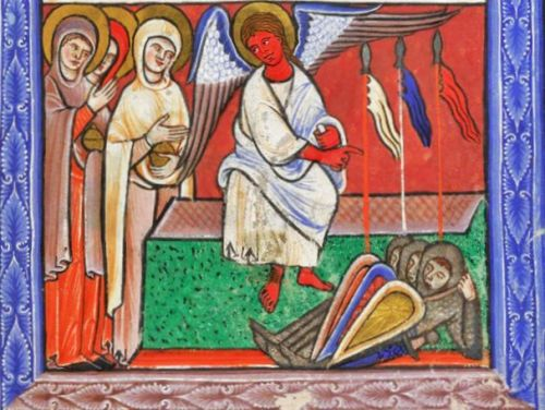 The Empty Tomb - Illuminated Manuscripts