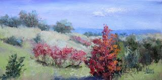Autumn on the Ranch, New Contemporary Plein Air Painting by Sheri Jones