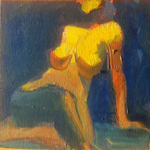 Seated Nude with Twist study - 41515 by Candy Barr