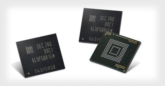 Samsung's 512GB Chip Will Hold Years of Smartphone Photos