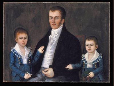 Joshua Johnson of Baltimore, first successful African-American portrait painter