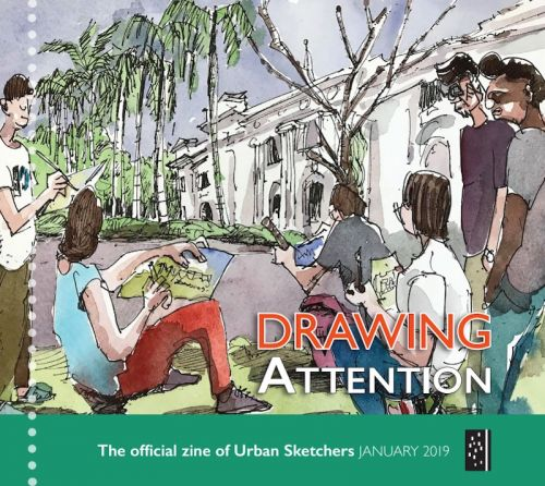 Drawing Attention January 2019