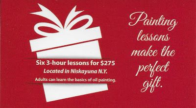 Painting Lessons make the Perfect Gift