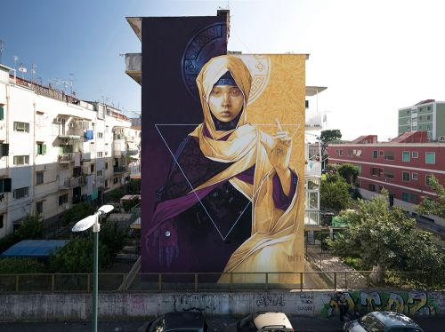 """""""Polvere di Stelle"""" by INTI in Naples, Italy"""