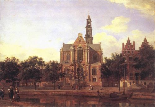 Worth a Thousand Words: View of the Westerkerk