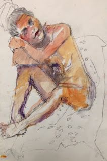 We have had some great models at the Watercolor Society