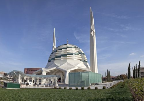 Marmara University Faculty of Theology Mosque / Hassa Architecture Engineering Co