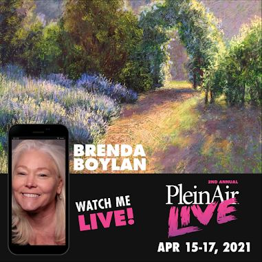 Chosen Faculty for Plein Air LIVE!