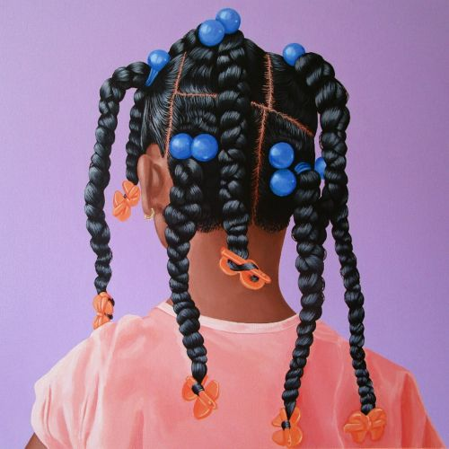 Vivid Paintings by Artist Jessica Spence Highlight the Beauty of Black Hair