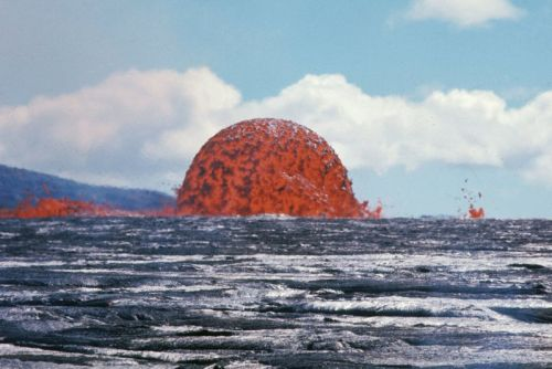 This Photo Shows a 65-Foot-Tall Lava Dome