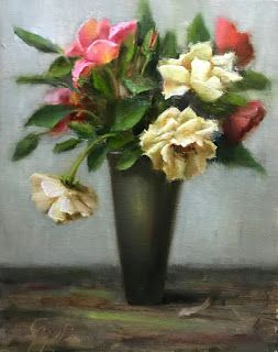 Summer Roses by artist Pat Meyer