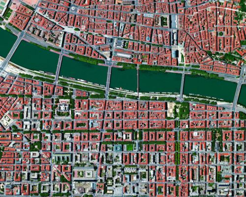 Gardens, Parks, and Boulevards: Mapping Green Spaces Via Satellite