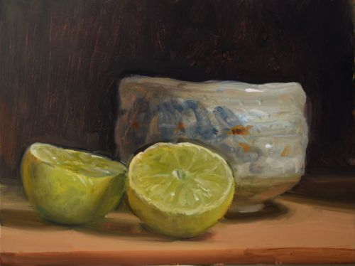 Lime and Tea Bowl