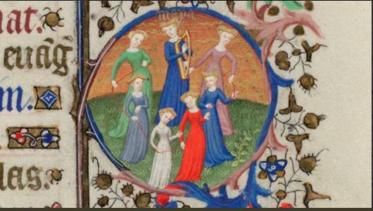 The Month of May from the Bedford Hours