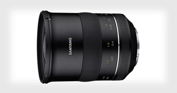Samyang Unveils the XP 35mm f/1.2 Lens for Canon EF