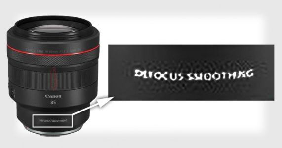Canon to Unveil a Lens Feature Called Defocus Smoothing