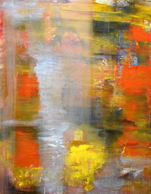 """Non Objective Painting, Contemporary Art """"The Prophet"""" by International Abstract Artist Arrachme"""