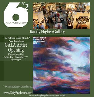 Opening December 7th at the Randy Higbee Gallery!