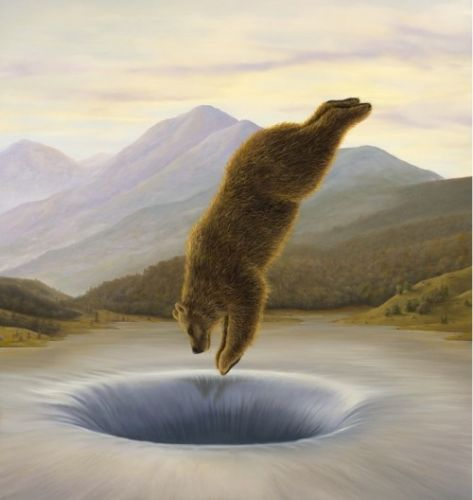 Crossconnectmag: Paintings by Robert Bissell Imaginary Realist