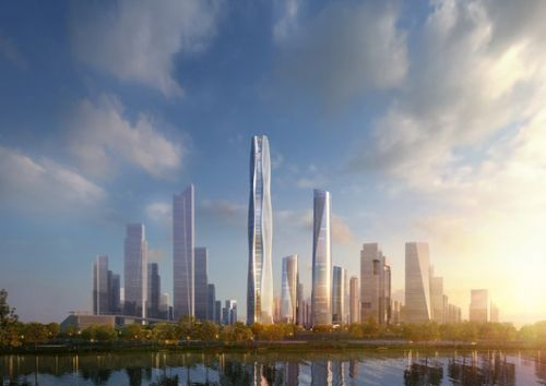 AS+GG Releases Design for New Financial District in China