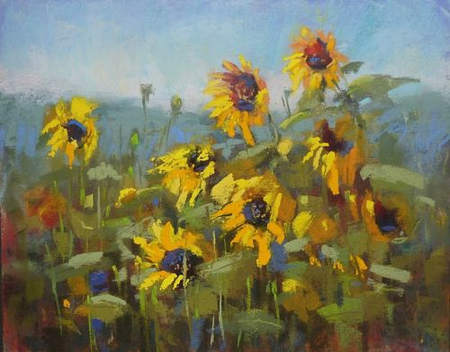 Tips for Painting Sunflowers