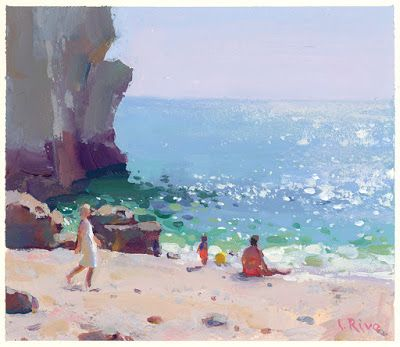 Summer in Algarve - new Painting, new Print and new Video!
