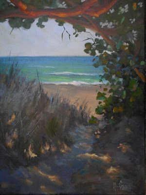 Seascape Oil Painting, Coastal Painting, Daily Painting, Small Oil Painting, 12x16
