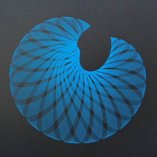 Complex Moiré Patterns Created by Mechanical Drawings Machines by James Nolan Gandy